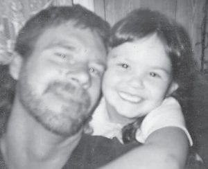 — Skylar Lee Collins turned 11 years old on March 14. She is pictured with her father, Johnny Wells. She has two older sisters, Destiney, 13, and Megan, 15. Her grandparents are Hannah and Bill Wells of Sandlick, and Ray and Sherry Miller of London.