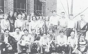 1939 CHEMISTRY CLASS