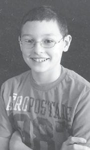 — Zackary Noah Dale Isaac celebrated his 12th birthday March 19. He is a sixth-grade student at Martha Jane Potter Elementary School and has a sister, Leshia Fleming, 18. He is the son of Ginger Isaac of McRoberts, and Dale Isaac of Deane.