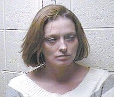 Pictured above is suspect Katie LaRue. At right is Jeffery McClain.