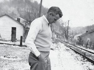The late Joe Tackett is pictured at Marlowe Camp in 1952. He was the father of Esther Wagner of Whitco.