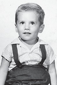 """is the son of the late Della Howard Pennington and Bob Pennington. Whitesburg correspondent Oma Hatton says, """"He has changed some. I think he was about three years old"""" in this picture."""