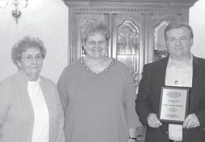National Volunteer Appreciation Week was April 10-16 and Letcher Manor held its annual volunteer recognition and award event to honor local volunteers. For 13 years of service, Whitesburg First Baptist Church was honored as was Neon Pentecostal Church for the most volunteer hours. Pictured are members of the Whitesburg First Baptist Church.
