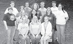 WHITESBURG HIGH SCHOOL BIBLE CLUB— Advisor, Mrs. Sallie Hubbard. From top left, Ryan Sexton, Matthew Zopp, Andrew Fleming, Josh Tyree. Second row from top left, Elizabeth Day, Mary Beth Hampton, Teresa Fugate. Third row from top, Andrea Mullins, Emily Sergent. Kayla Lucas. Front row from left, Savannah Whitaker, Allison Day, Whitley Castle.
