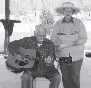 RHUFORD AND COLEENE HART sang at a senior picnic held at Kingscreek Park.