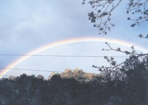 — Shanna Smith of Buck Creek, Colson, took this photograph from her home on April 28.