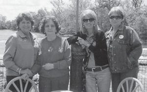 Nanetta Dingus, Louise Shepherd, Carol Day and Karen Quillen are pictured in Tennessee celebrating the birthday of Louise Shepherd. She said they had a great time and had lunch at a seafood place.