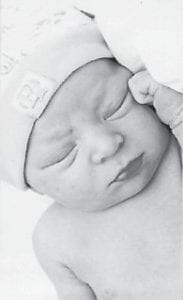 Benton Lee Barnes III was born February 18. He is the grandson of Michael and Claudia Haley, and the great-grandson of Vivian S. Collins of Fleming.