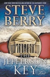 """The cover of Steve Berry's """"The Jefferson Key"""" is shown. (AP Photo/ Ballantine)"""
