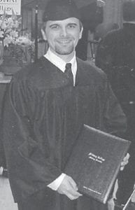 Justin King was graduated from Midway College on May 14. He received a bachelor of arts degree in health care administration and plans to earn a master's degree. He is the son of Patrick and Annette King of Cromona and is employed with Appalachian Regional Healthcare Inc.