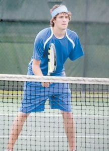 Jacob Raleigh in action last week in Lexington. (Photo by Greg Colliver/ courtesy Herald-Leader)