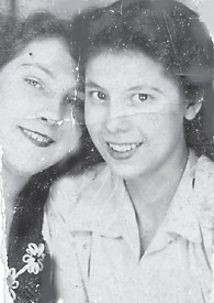 BELLCRAFT RESIDENTS — Geraldine S. Fields and Pauline Hammond are pictured in 1943.