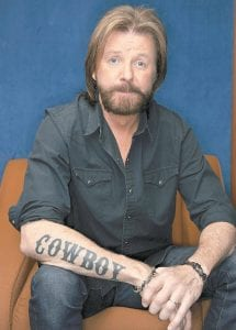 After a 20-year partnership with Kix Brooks in Brooks & Dunn, Ronnie Dunn is releasing his first self-titled solo album this week. (AP Photo)