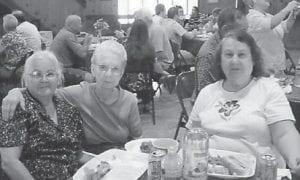 Pictured at the 2010 Hatton Family Reunion are Fleeta Hatton Brown, Hazel Hatton Hart and Alberta Hatton Barker.