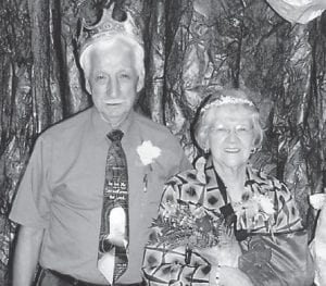 Rhuford and Coleene Hart were crowned prom king and queen.