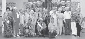 PROM GOERS from Ermine Senior Citizens Center recently posed for a photograph at the Boone Fork Senior Citizens Center.