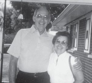"Pictured are former Marlowe residents Ada King and the late Arthur King. Whitesburg correspondent Oma Hatton says, ""I think they left here around 1950. Ada, you all better not still be looking this good! It's always so good hearing from you and remember our good old days."""