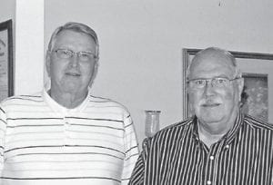 — Harold and Wayne Cook are the sons of the late Elmer and Maxie Cook. They are both retired and live in Ohio. They are cousins of Linda Combs, Richard Brown, Ronnie Brown and Robbie Brown. Riley Cook is their uncle.