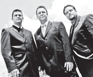 Steve Hess and Southern Salvation, a Southern gospel group, will perform at 6 p.m., Sunday, Sept. 18, at McRoberts Missionary Baptist Church. The group includes Steve Hess, Stephen Hoell, and Chad Riley. For more information, call 832-0097.
