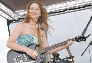 Pound, Va.-native Reagan Boggs will perform here on September 23.