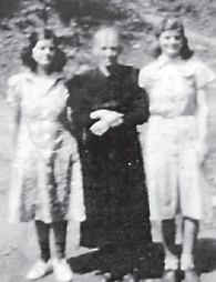 Pictured at Elk Creek at Blackey are the late Ila Howard, Cindy Howard and Ellis Howard. Cindy Howard was the mother of Whitesburg correspondent Oma Hatton and Ila Howard was her grandmother. Ellis Howard was an aunt and the wife of the late Sylvester Howard.