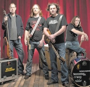 Velvet Truckstop is a southern rock band from Asheville, N.C.