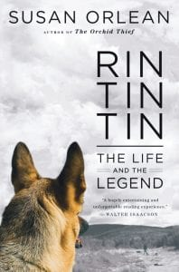 """Simon and Schuster is the publisher of """"Rin Tin Tin: The Life and the Legend,"""" by Susan Orlean."""