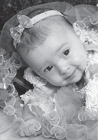 Morgan Dennise Profitt is the four-month-old daughter of Pauletta and Benji Profitt of Neon. She participated in the Mountain Heritage Pageant and was the winner of the 0-6 months category. She is the granddaughter of Sondra and Paul Rose of Neon, and Ollie Profitt of Camp Branch and the late Dennis Profitt.