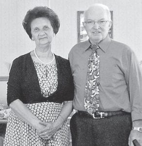 — Charles and Gladean Shepherd of Gordon, will celebrate their 50th wedding anniversary Oct. 15 at a memorial meeting at Hurricane Gap Old Regular Baptist Church where he has been the pastor for more than 30 years. The couple have three children, Charles Odell Shepherd, Gordon; Kevin Shepherd, Virginia; and Agatha Shepherd, Harlan, and four grandchildren, Kollena Shepherd, Hannah Sturgill, Sarah Sturgill, and the late Anthony Shepherd.