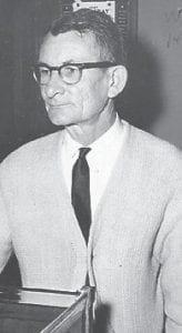 PRESTON M. ARMSTRONG JR. Whitesburg High School Faculty Member 1957-1982