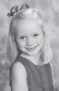 Kenley Danielle Green, daughter of Dana and Kent Green and granddaughter of Lynn and Kenneth Green, all of Johnson City, Tenn., and Danny and Donna Warf Mullins of Cromona, turned six years old on Oct. 6. She celebrated her birthday at the Burger King in Gray, Tenn., with a Cupcake themed party with family, friends and classmates. She is a kindergarten student at Providence Academy in Johnson City. She participates in ballet, jazz and gymnastics, and loves playing with her sister, Macie Ellyn, and cousins Alex and Bailey Kincer of Neon.