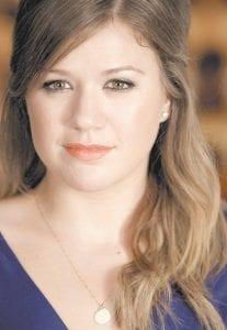 KELLY CLARKSON (AP photo)
