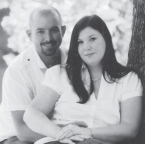 Sabrina Hall and Gary Halcomb Jr. will marry Dec. 10 at Millstone Methodist Church. She is the daughter of Bonnie and Verling Hall of Mayking. He is the son of Donna and Gary Halcomb of Gordon.