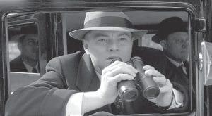 "Leonardo DiCaprio portrays J. Edgar Hoover in a scene from ""J Edgar."" (AP Photo/ Warner Bros. Pictures)"