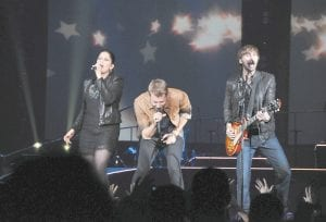 Star country music group Lady Antebellum proved to be a popular concert draw Sunday night at the Eastern Kentucky Expo Center in Pikeville. (Photo by Chris Anderson)