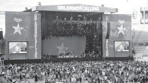 """The main stage at the inaugural """"Orlando Calling"""" festival."""