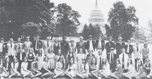 WHITESBURG HIGH SCHOOL SENIOR TRIP 1974