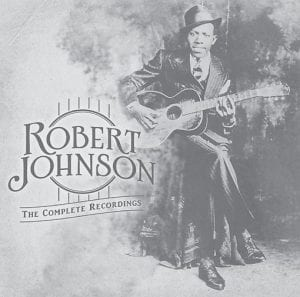 """The cover of the box set """"Robert Johnson: The Complete Original Masters. Centennial Edition"""" is shown. (Sony/Legacy)"""