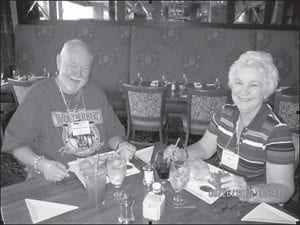 Johnny and Evelyn Doyle now live in Lake Placid, Fla.