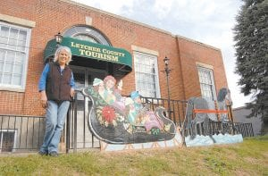 Patricia Shelton is the curator at The Underground Gallery located in the basement of the Letcher County Tourism Center in downtown Whitesburg. The gallery will participate in the Winter Artwalk being held Friday at several locations in Whitesburg.