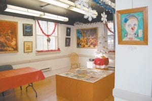The Underground Gallery is located in the basement of the old Whitesburg Post Office Building on Main Street.