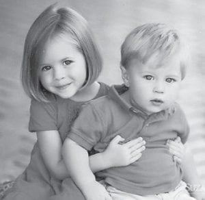 "Anna and Eli Hatton are the children of Julie and Jamie Hatton. ""All my children, grandchildren and great-grandchildren are beautiful,"" says Whitesburg correspondent Oma Hatton."