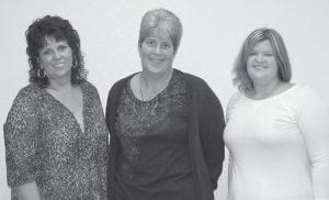 """Mountain Montessori in Whitesburg will have a re-grand opening with two new employees. Pictured from left are Debra Fields, Anne Leslie Hissom and Callie Horn. """"I'm thrilled to be back,"""" Collins said of the re-grand opening scheduled to be held Jan. 2."""