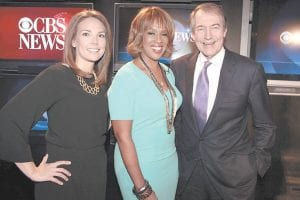 """Erica Hill, Gayle King and Charlie Rose (from left) are the new hosts of a morning show that will replace """"The Early Show."""" The new show premieres Jan. 9 and will air from 7 until 9 a.m. on CBS. (AP Photo/CBS)"""