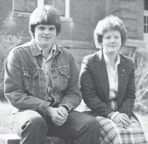 Van Stanley Breeding and Melissa Michelle Mohn were covaledictorians of the Whitesburg High School Class of 1980.