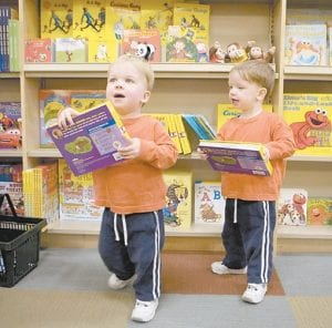The number of twins born in the United States has soared over the last three decades. (AP Photo)
