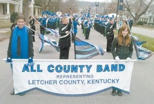 2011-2012 All Letcher County Band