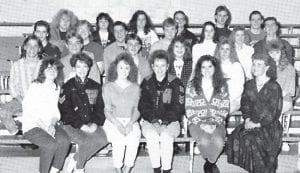 THE 1989-90 WHITESBURG HIGH SCHOOL DRAMA CLASS