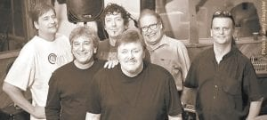Members of Atlanta Rhythm Section are (from left) drummer Jim Keeling, singer Rodney Justo, guitarist David Anderson, keyboardist Dean Daughtry, bassist Paul Goddard and guitarist Steve Stone.