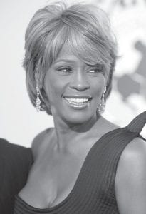 Singer Whitney Houston was photographed in October 2006 as she arrived at a charity ball in Beverly Hills, Calif. Houston died Feb. 11 at age 48. (AP Photo)